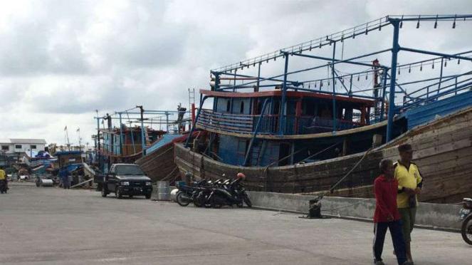 Kawasan nelayan Muara Angke, Jakarta