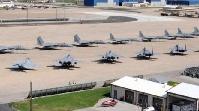 Salah satu pangkalan militer AS