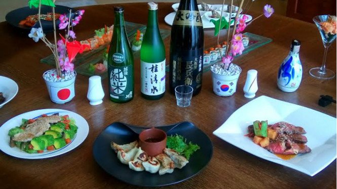 Kuliner Jepang dan Korea di Asia Restaurant, The Ritz-Carlton Mega Kuningan