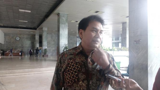 Politikus Partai Golkar Aziz Syamsuddin