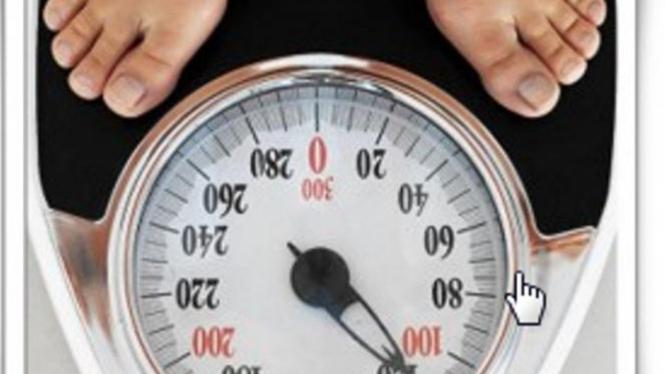 Rumus menghitung berat badan ideal.