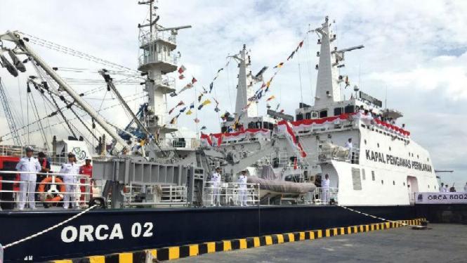 Orca, kapal pengawas perikanan baru milik Kementerian Perikanan dan Kelautan