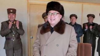 Pemimpin Korea Utara Kim Jong un.