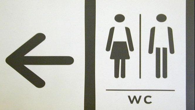 Ilustrasi/Toilet umum.