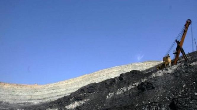 Ilustrasi tambang batu bara