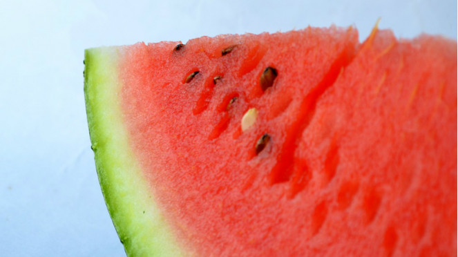 Buah semangka.