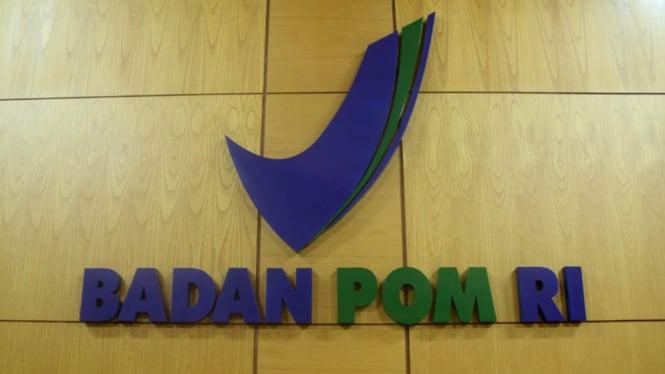 Logo Badan Pengawas Obat dan Makanan atau BPOM.