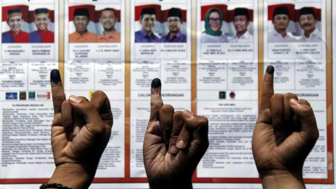 Penyelenggaraan pilkada serentak di Indonesia.