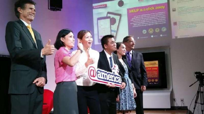 Kedubes AS bantu bikin aplikasi Help untuk rakyat Indonesia