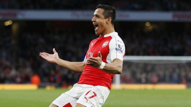 Striker Arsenal, Alexis Sanchez