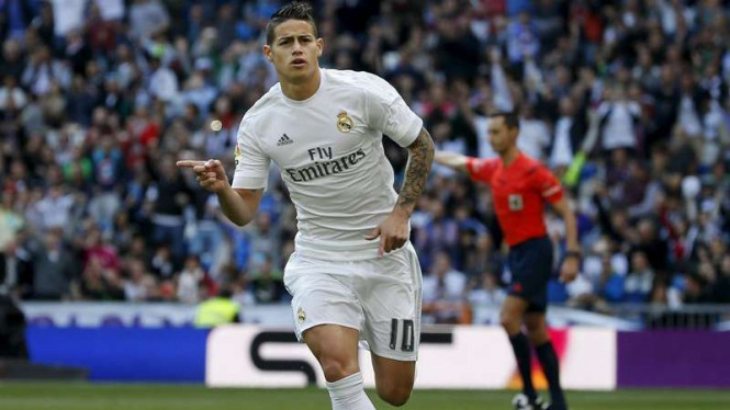 Pemain Real Madrid, James Rodriguez