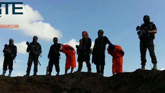 Ilustrasi/Kelompok Bersenjata Abu Sayyaf di Filipina Selatan.