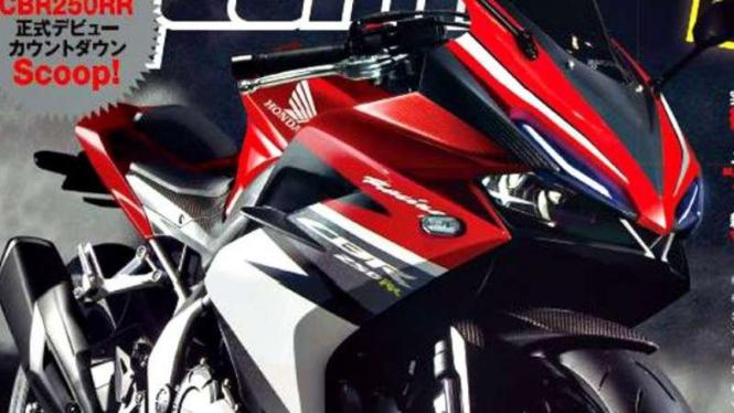 Rendering Honda CBR250RR.
