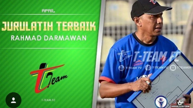 Rahmad Darmawan dinobatkan jadi pelatih terbaik MSL