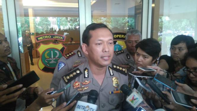 Kabid Humas Polda Metro Jaya, Kombes Pol Awi Setiyono.