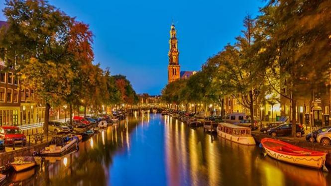 Amsterdam, Belanda.