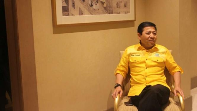 Ketua Umum DPP Partai Golkar, Setya Novanto.