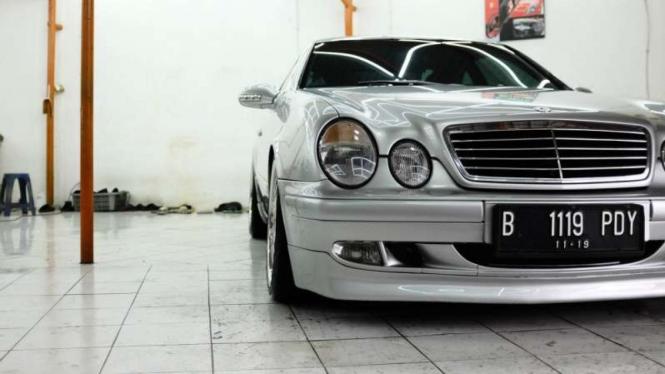 Mercy W208 CLK-Class milik Fenno.