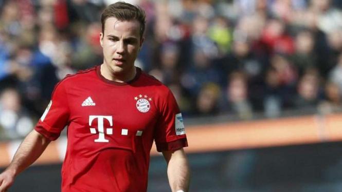 Gelandang Bayern Munich, Mario Goetze