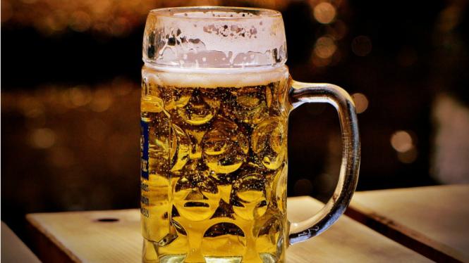 Ilustrasi minuman beralkohol.