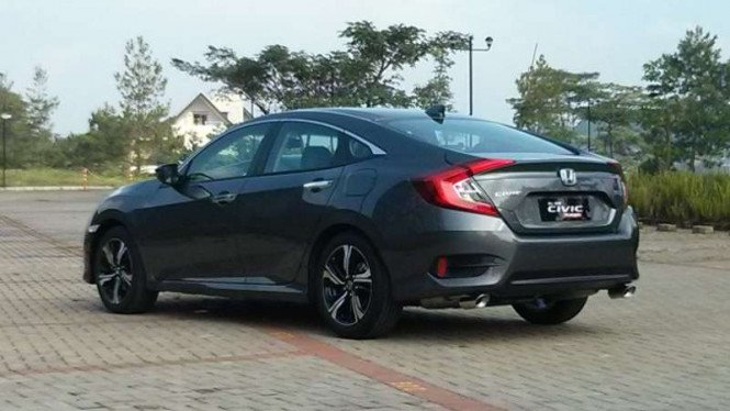 All New Honda Civic Turbo.