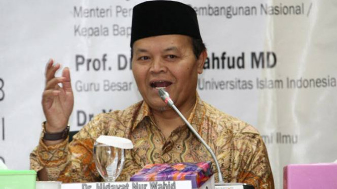 Wakil Ketua Majelis Syuro PKS, Hidayat Nurwahid.