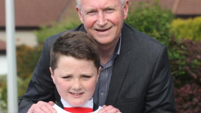 Ewen Mackenzie dan direktur klub Iverness, Kenny Cameron