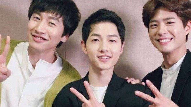 Lee Kwang Soo, Song Joong Ki, Park Bo Gum