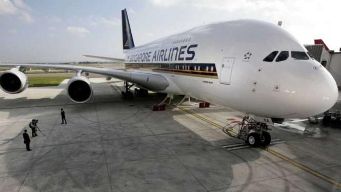 Singapore Airlines Sempat Delay 6 Jam, Kenapa?