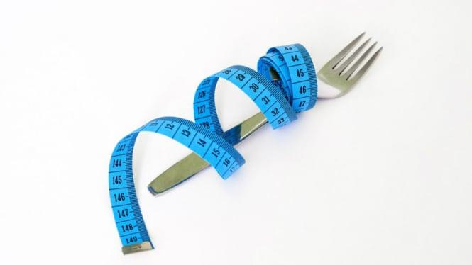 Ilustrasi diet.