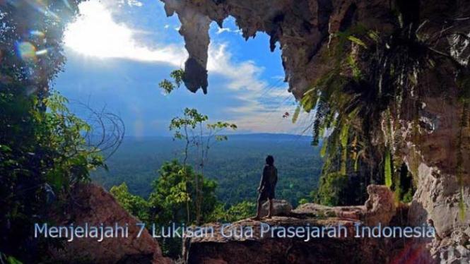 Gua Prasejarah di Indonesia.