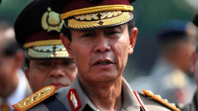 Jenderal Sutarman saat menjadi Kapolri