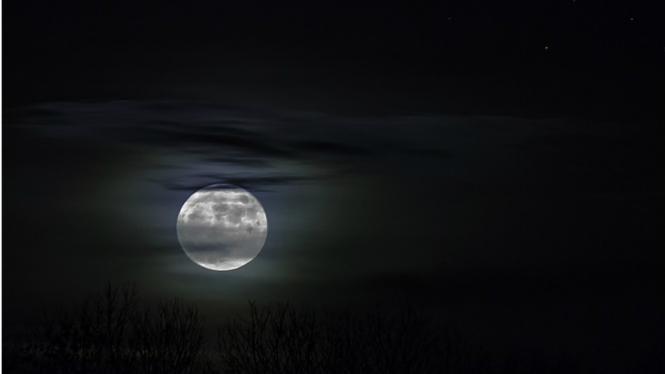 Ilustrasi malam hari