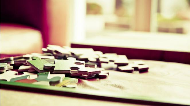 Ilustrasi puzzle