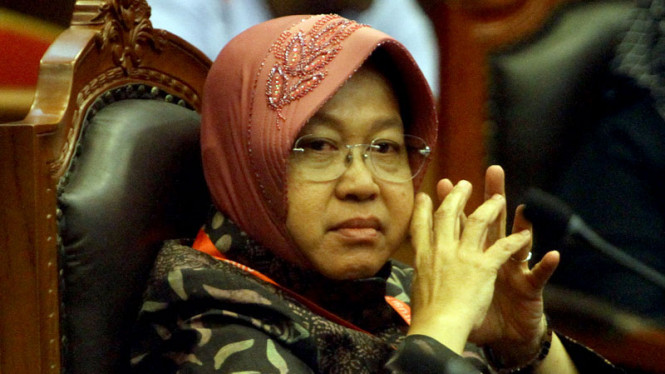 Wali Kota Surabaya, Tri Rismaharini alias Risma.