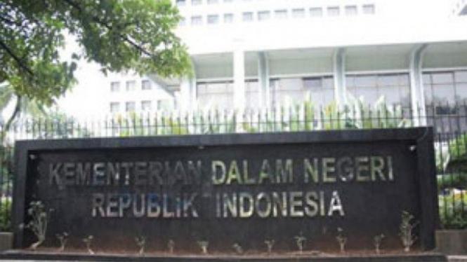 Kantor Kementerian Dalam Negeri di Jakarta.