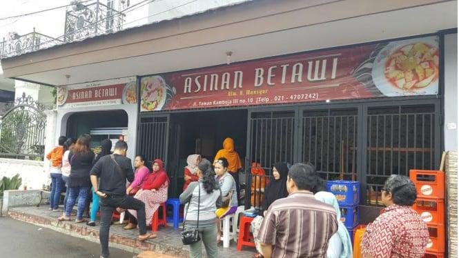 Image result for Asinan Betawi H. Mansyur Rawamangun
