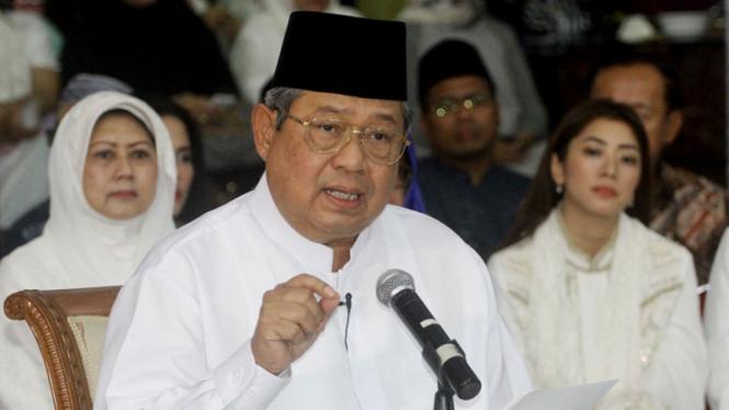 Presiden keenam RI, Susilo Bambang Yudhoyono.