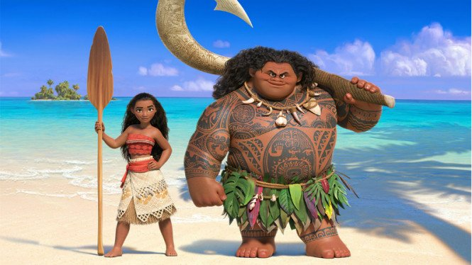 Film Disney Moana (kiri).