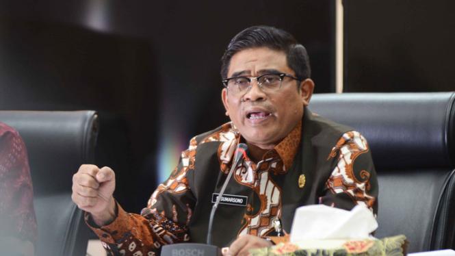 Plt Gubernur DKI Jakarta, Sumarsono.