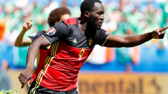 Striker Belgia, Romelu Lukaku