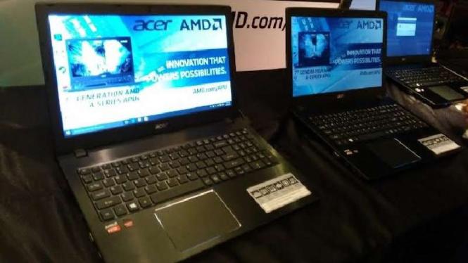 Jajaran laptop terbaru Acer dengan prosesor AMD terbaru