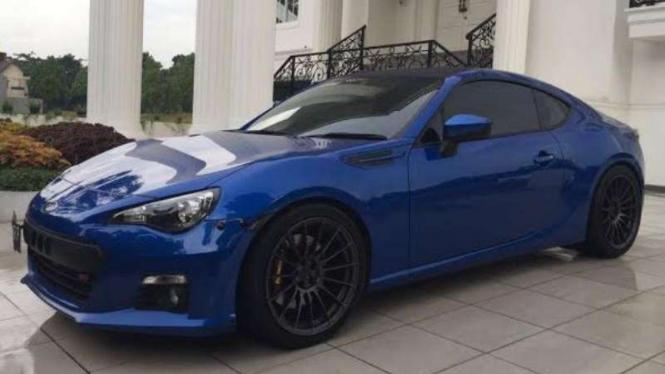Modifikasi Subaru BRZ lansiran 2013