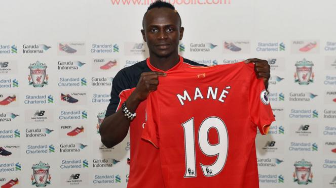 Striker Liverpool, Sadio Mane.