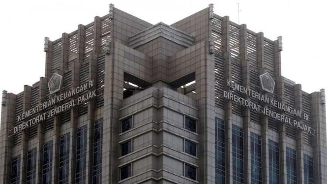 Kantor pusat Dirjen Pajak Kementerian Keuangan.