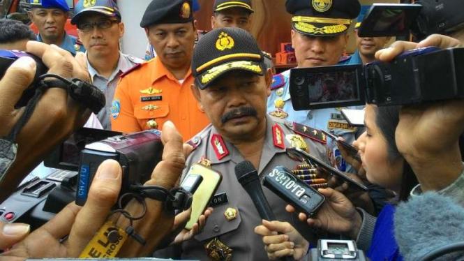 Kepala Polda Jawa Timur, Inspektur Jenderal Polisi Anton Setiadji.