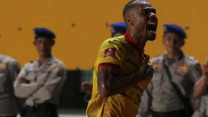 Hilton Moreira saat membela Sriwijaya FC