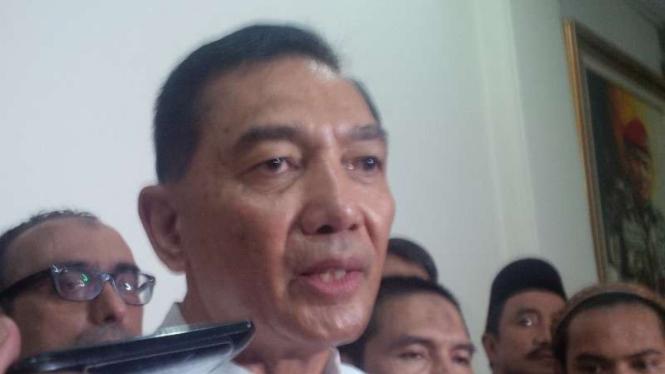 Bakal calon gubernur DKI Jakarta, Sjafrie Sjamsoeddin.