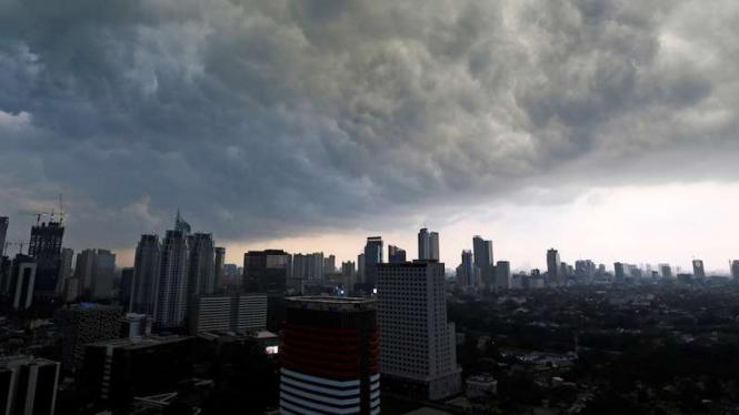 Ilustrasi cuaca Jakarta