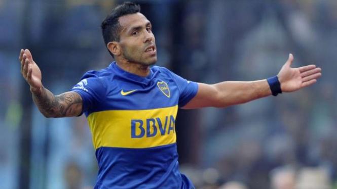 Penyerang Boca Juniors, Carlos Tevez